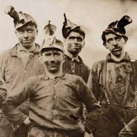 Mine in Barnesville Virginia, 1908.