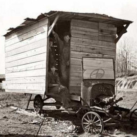 Camping car, Tennessee 1936.